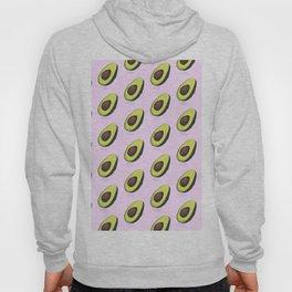 Avocado organic print Hoody