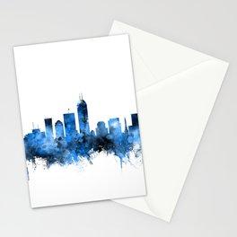 Indianapolis Indiana Skyline Stationery Cards