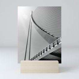 Assut de l'Or Bridge Mini Art Print