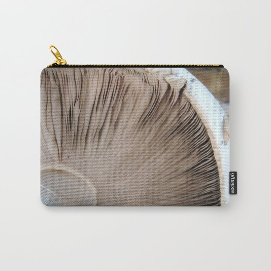 TEXTURES -- Mushroom Uprooted Carry-All Pouch