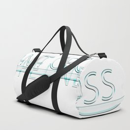 Don't cross the line Duffle Bag