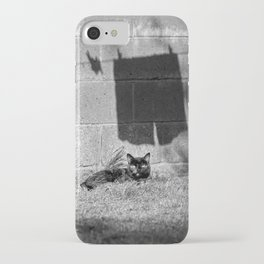 The cat and the pants iPhone Case