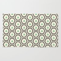 honeycomb Area & Throw Rugs featuring Honeycomb by Tayler Willcox