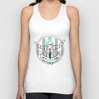 tim burton Tank Tops featuring Beetle Juice [Betelgeuse, Michael Keaton, Tim Burton] by Vyles