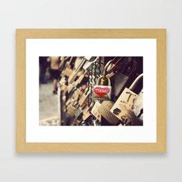 Tiamo Framed Art Print