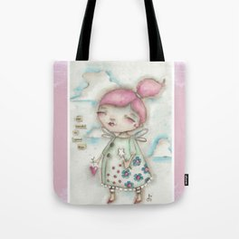 A Hope-Spreading Fairy Tote Bag