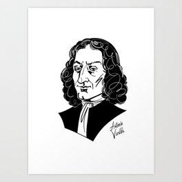 Antonio Vivaldi Art Print
