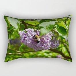 Lilac Love Rectangular Pillow