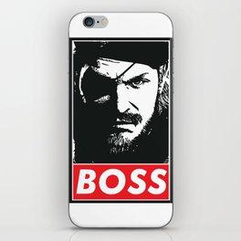 Big Boss - Metal Gear Solid iPhone Skin