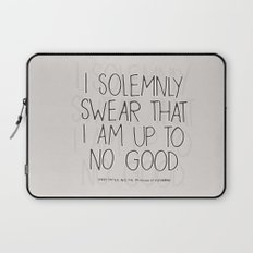 Harry Potter Quote #1 Laptop Sleeve