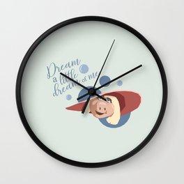 A Piggy Dream Wall Clock