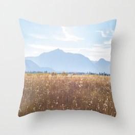 September in South Lake Tahoe Throw Pillow
