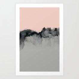 Smoky Quartz Art Print