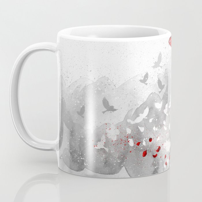 Falling blossoms Coffee Mug