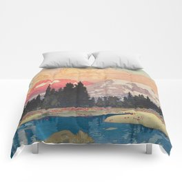 Storms over Keiisino Comforters
