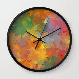 ' Fall Designz ' By: Matthew Crispell Wall Clock