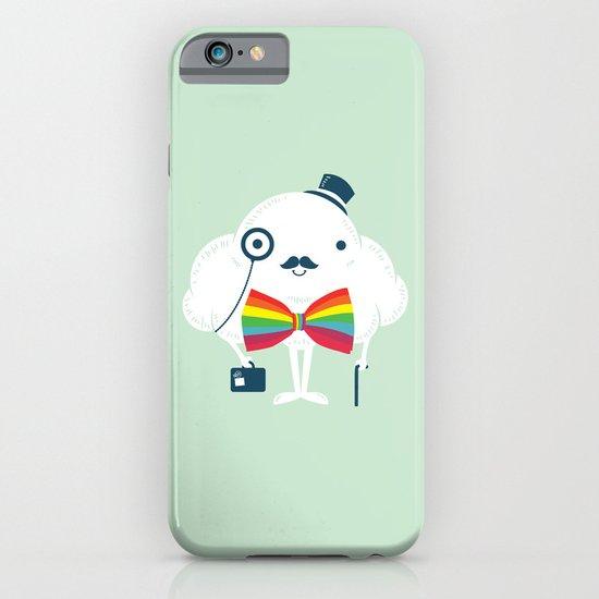 Rainbow-tie gentleman iPhone & iPod Case