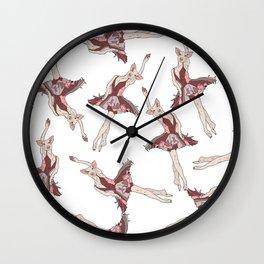 Pig Ballerina Tutu Wall Clock