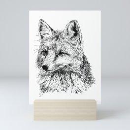 Oh, For Fox Sake Mini Art Print