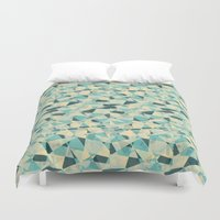 prism Duvet Covers featuring Prism by Creo