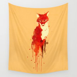 The fox, the forest spirit Wall Tapestry