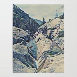 Kings Canyon, California Poster