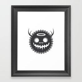 Monster 01 Framed Art Print