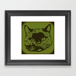 cathead 2 Framed Art Print