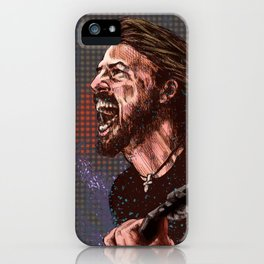 Grohl : The Nicest Guy in Rock iPhone Case