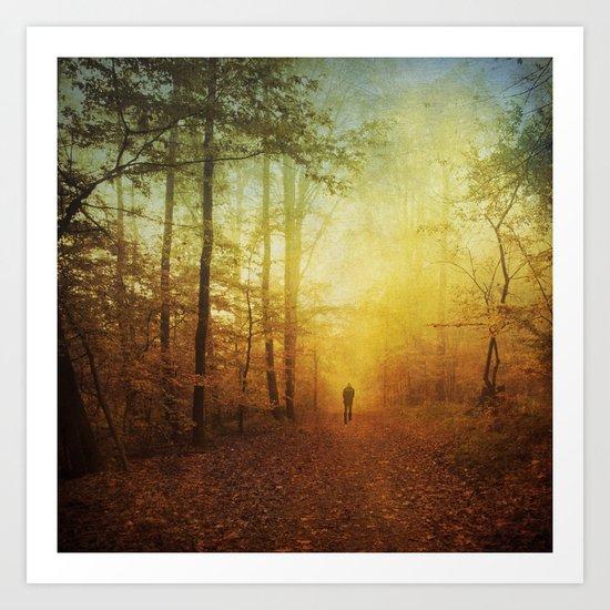 fall world Art Print