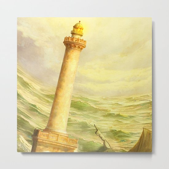 The Fall of Alexandria Metal Print