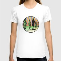 running T-shirts featuring Running by Paul Simms