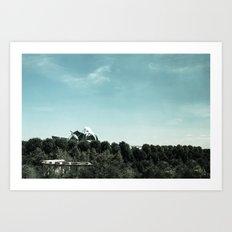 Pritzker Pavilion - Millennium Park - Chicago Art Print