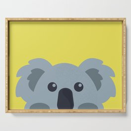 Peek A Boo Koala Serving Tray