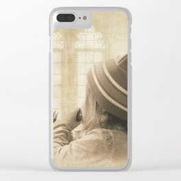 Bless The Children Clear iPhone Case