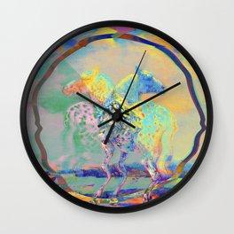 Glitch Horse II Wall Clock