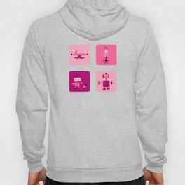 Robots-Pink Hoody