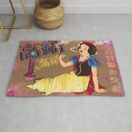 Snow White Girl Rug