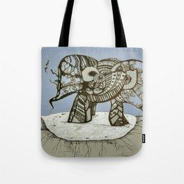 an elephant Tote Bag