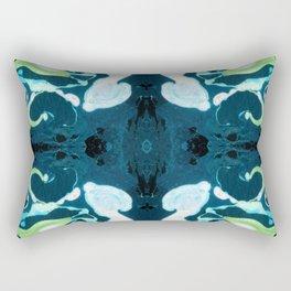 Abstract #3: Blue Marine Dream Rectangular Pillow