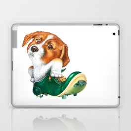 A little dog in a spike Laptop & iPad Skin