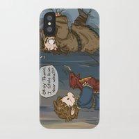 lotr iPhone & iPod Cases featuring Bilbo the burglar by BlacksSideshow