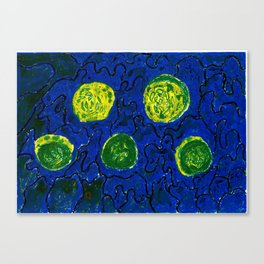 The Cucumbers Canvas Print