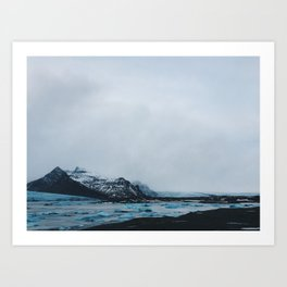 Coast Collective - Iceland Series Glacier Art Print