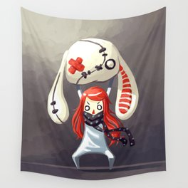 Bunny Plush Wall Tapestry