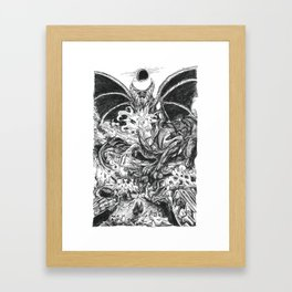 Inktober 2018: Roasted Framed Art Print