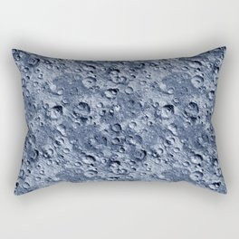 Blue Moonscape Rectangular Pillow