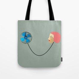 woman fan Tote Bag