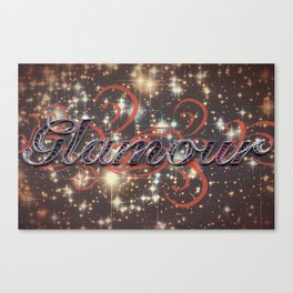 Glamour Canvas Print