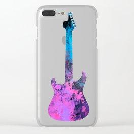 guitar art #guitar Clear iPhone Case